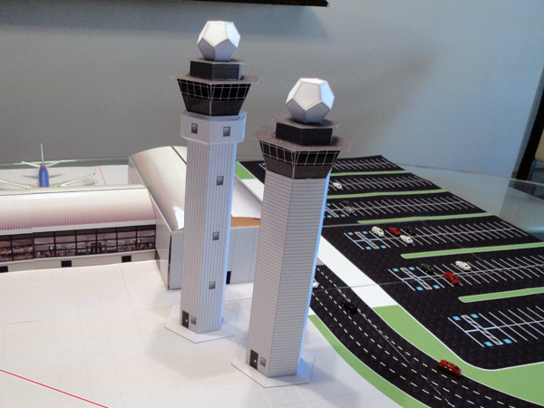 1 200 Scale Model Airport Control Towers Airport Diorama