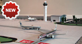 1:200 Single Runway Model Airport #1