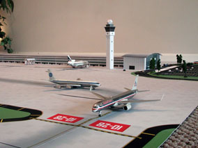 1:200 Scale Model Airport Terminal Building #1