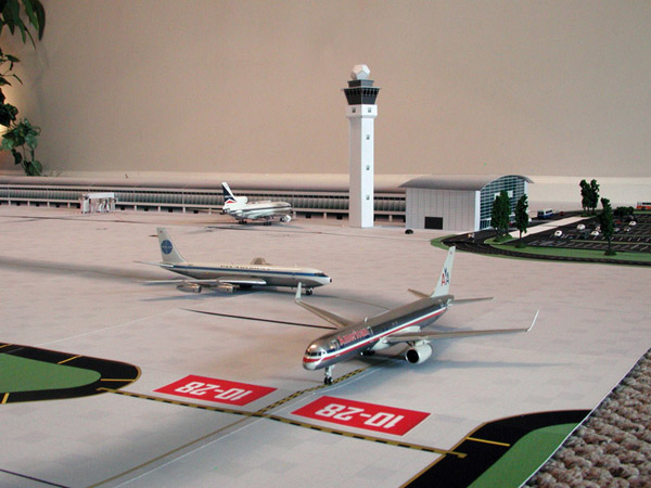 1:200 Scale Model Airport Terminal #1
