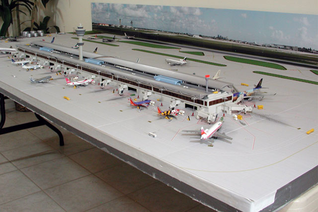 1:400 Single Runway Airport