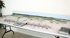 1:500 Scale Single Runway Model Airport #2