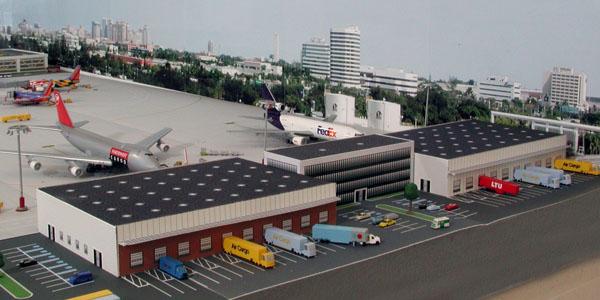 cargo-building-model-airport