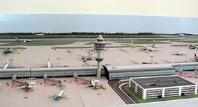 Model Airport Background #1
