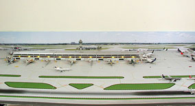 Model Airport Background #3