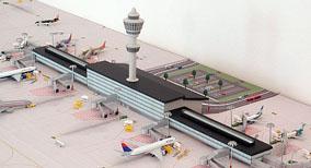 Model Airport Terminal Building #1