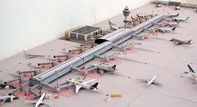 Model Airport Terminal Building #2