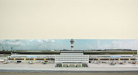 Model Airport Terminal Building #3
