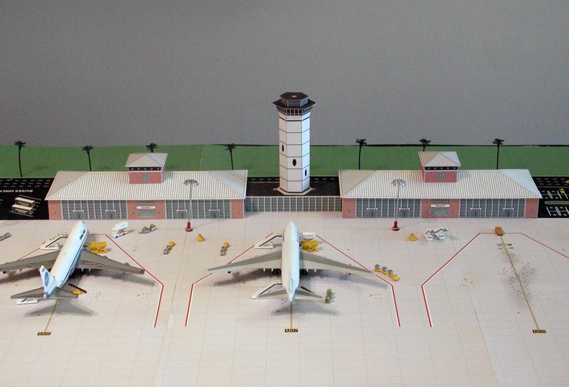 Airport Terminal Tropical - Brick