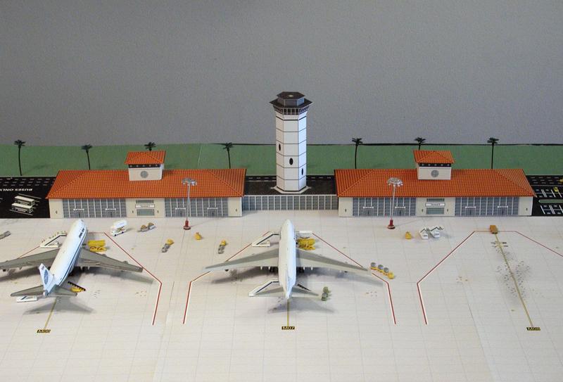 Aiport Terminal Tropical - Terracota