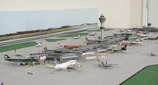 1 500 Model Airport Dual Runway 1 Airport Diorama Designs