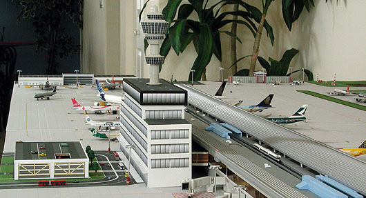 Model Airport Terminal Building 3 Airport Diorama Designs