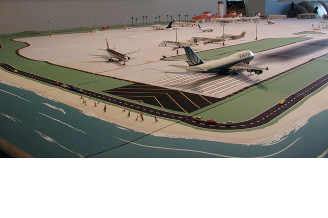 Tropical Model Airport