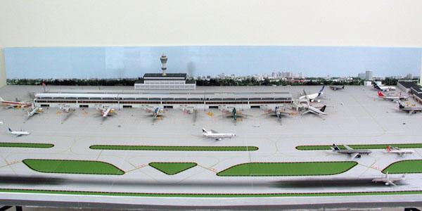 Model Airport Background #4 | Airport Diorama Designs